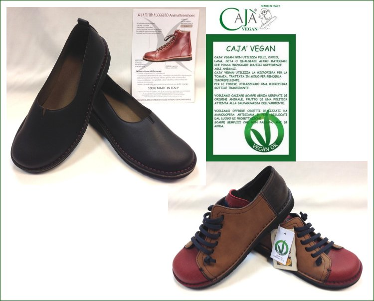 big sale 83c50 f9df9 Negozio Cajà Vegane e Camminaleggero AnimalFreeShoes Roma ...
